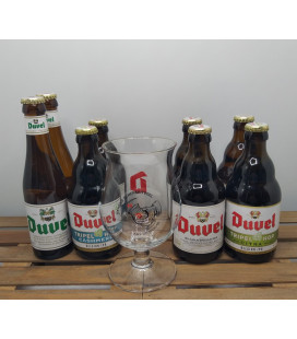 Duvel Brewery Pack + FREE Duvel Glass