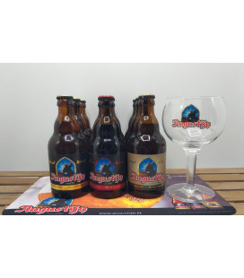 Augustijn Brewery Pack (9x33cl) + FREE Glass & Barmat