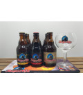 Augustijn Brewery Pack (9x33cl) + FREE Augustijn Glass & Barmat