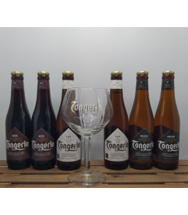 Tongerlo Brewery Pack (6x33cl) + FREE Tongerlo Glass