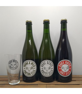 Lambiek Fabriek Brewery Pack (3x75cl) + FREE Brett-Elle Glass