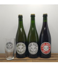 Lambiek Fabriek Brewery Pack (3x75cl) + FREE Brett-Elle Glass