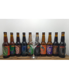 Atrium Brewery Pack (10x33cl) + FREE Atrium Glass