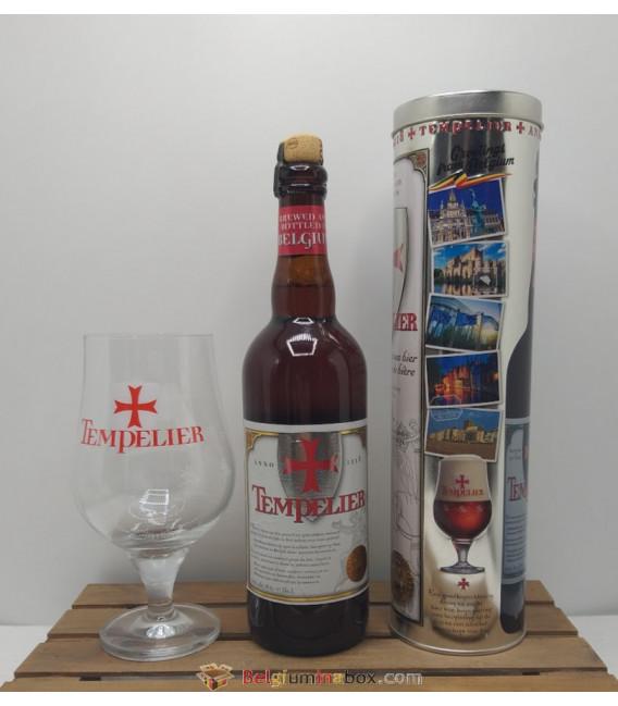 Tempelier 75 cl Cilinder Box + Tempelier Glass 33 cl