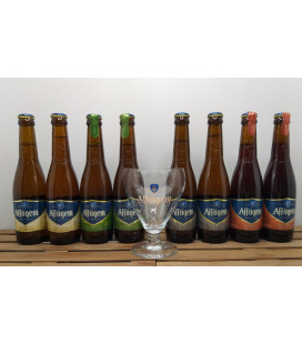 Affligem Brewery Pack (8x30cl) + FREE Affligem Glass