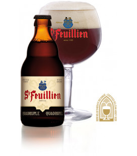 St Feuillien Quadruple 33 cl