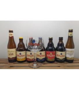 St Feuillien Brewery Pack (7x33cl)  + FREE St Feuillien Glass