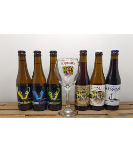 Lupulus Brewery Pack (6x33cl) + Lupulus Glass