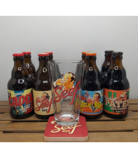 SEEF Brewery Pack (2x4x33cl) + FREE SEEF Glass