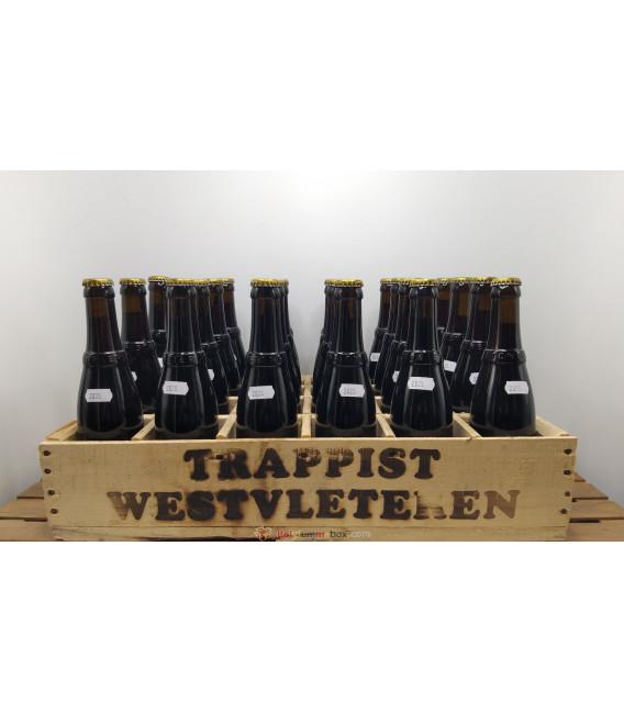 Westvleteren 12 (Abt) 2020 full crate 24 x 33 cl + wooden Westvleteren crate