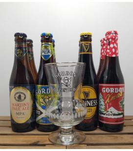 Gordon's Brewery Pack (2x4x33cl) + FREE Gordon Glass