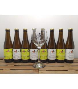 d'Oude Caert Brewery Pack (4x2x33cl) + FREE d'Oude Caert Glass