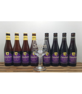 Zundert Trappist Brewery Pack (4+4) + FREE Zundert Trappist Glass