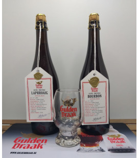 Gulden Draak Barrel-Aged Set of 2 + FREE Glass & Barmat