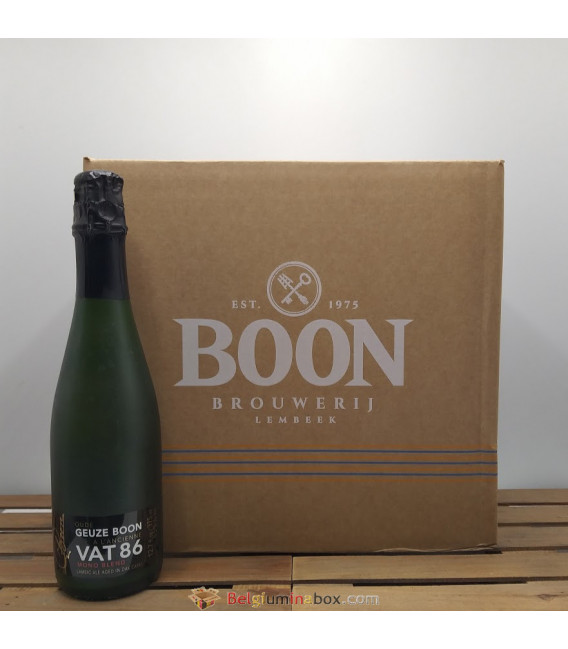 Box of Boon Oude Geuze VAT 86 (12x37.5cl)