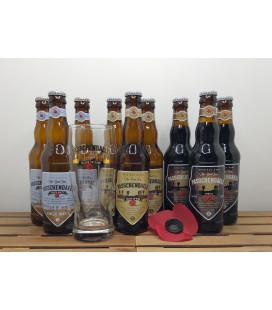 Passchendaele 9-Pack : White-Blond-Porter + FREE Passchendaele Glass