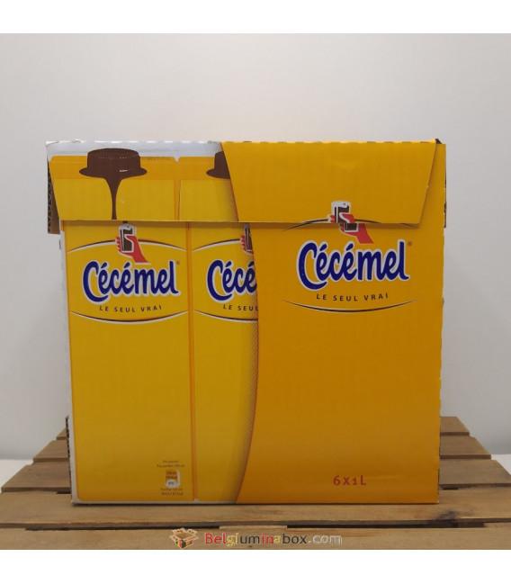 Cécémel Belgian Chocolate Milk - Box of 6 x 1 L