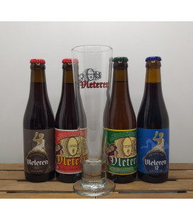 Vleteren Brewery Pack (4x33cl) + Vleteren Glass