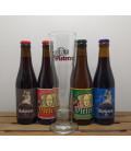 Vleteren Brewery Pack (4x33cl) + Vleteren Glass