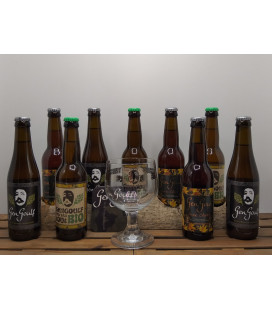 GenGoulf Brewery Pack (3x3) + FREE GenGoulf Glass