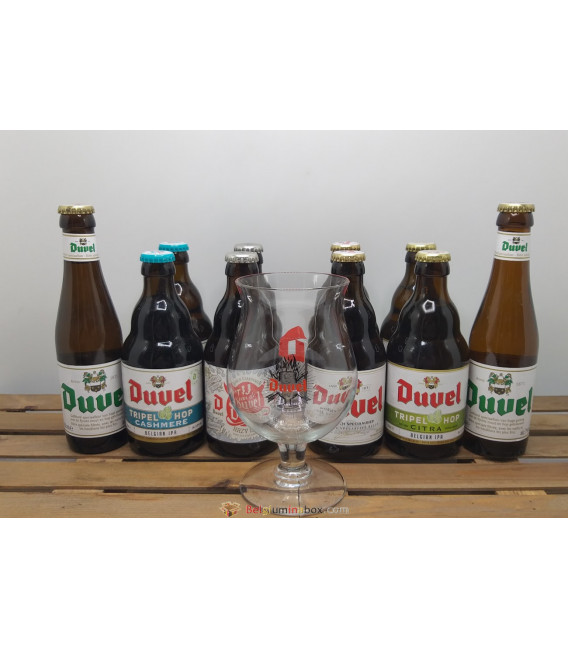 Duvel Brewery Pack (5x2) + FREE Duvel Glass