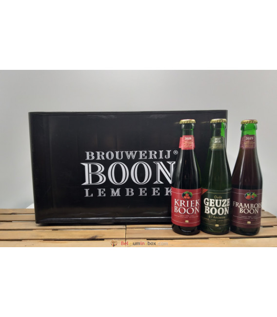 Boon mixed crate (GZ-KR-FR) 24 x 25 cl + BOON crate
