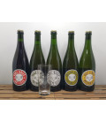 Lambiek Fabriek Brewery Pack (5x75cl) + FREE Brett-Elle Glass