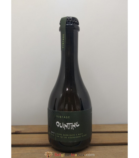Quintine Nature Bourgogne Blanc Barrel-Aged 6% 33 cl