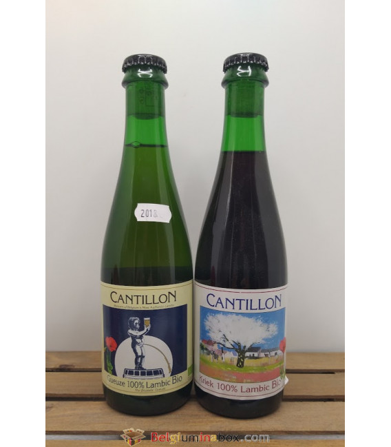 Cantillon 2-pack (Gueuze-Kriek) 2018 37.5 cl