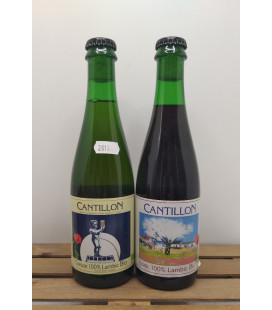 Cantillon 2-pack (Gueuze-Kriek) 2018 37.5 cl