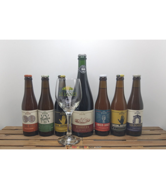 De Ranke Brewery Pack (7x33cl) + Wijnberg + FREE De Ranke Glass