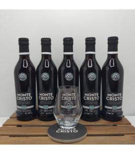 Monte Cristo 5-Pack + FREE Monte Cristo Glass