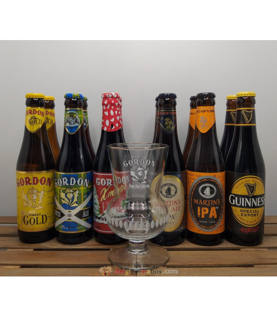 Gordon's Brewery Pack (2x6x33cl) + FREE Gordon Glass