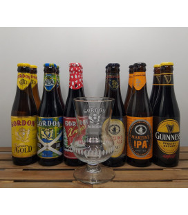 Gordon's Brewery Pack (2x6x33cl) + FREE Gordon Glass