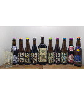 Abbaye des Rocs Brewery Pack (10-Pack) + FREE 1979 Glass