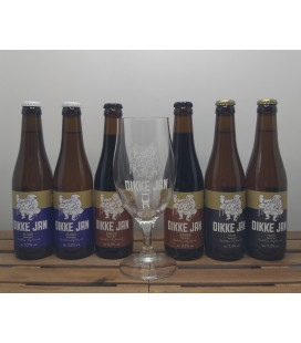 Dikke Jan Brewery Pack (6x33cl) + FREE Dikke Jan Glass