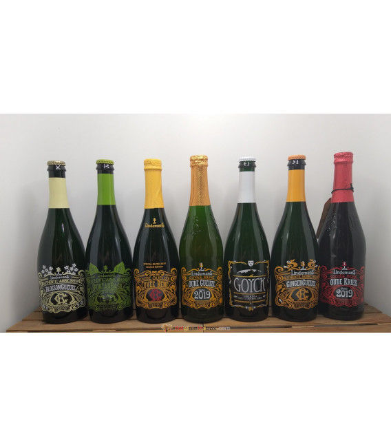 Lindemans Brewery Pack (5x75cl) + FREE Lindemans Glass