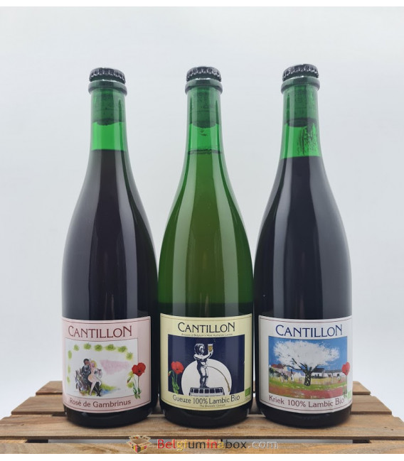 Cantillon 3-Pack 2020 (3x75cl)