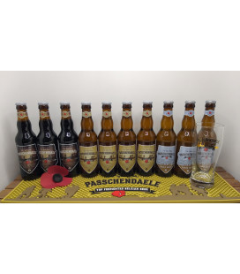 Passchendaele Brewery Pack : 10-Pack + Bar Runner + FREE Glass