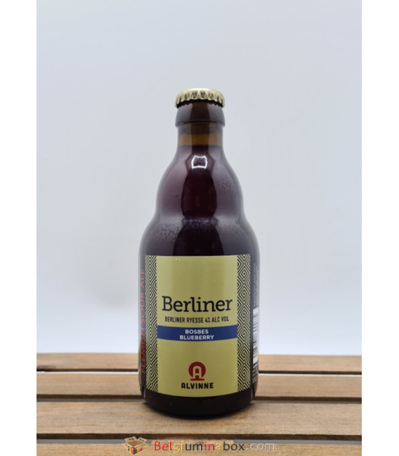 Alvinne Berliner Bosbes (Blueberry) 33 cl