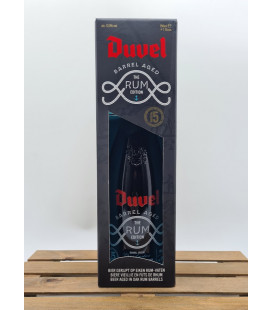 Duvel Barrel-Aged - The Rum Edition - Batch 5 + Tasting Glass