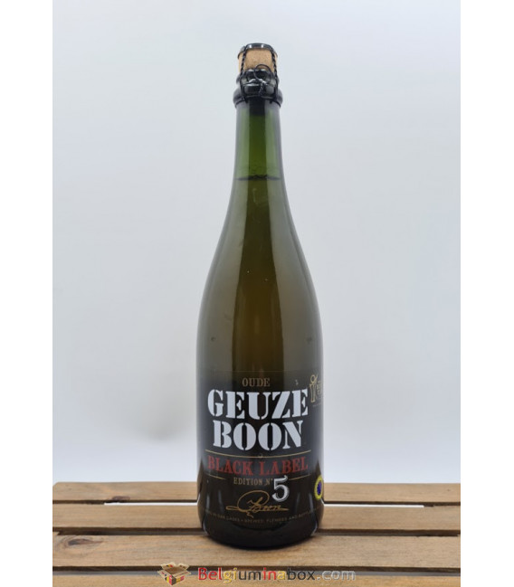 Boon Oude Geuze Black Label N° 5 75 cl