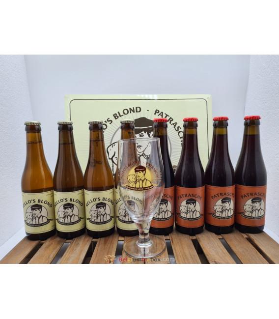 Nello & Patrasche Brewery Pack + FREE Glass