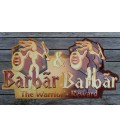 Barbãr Beer Sign in Tin-Metal