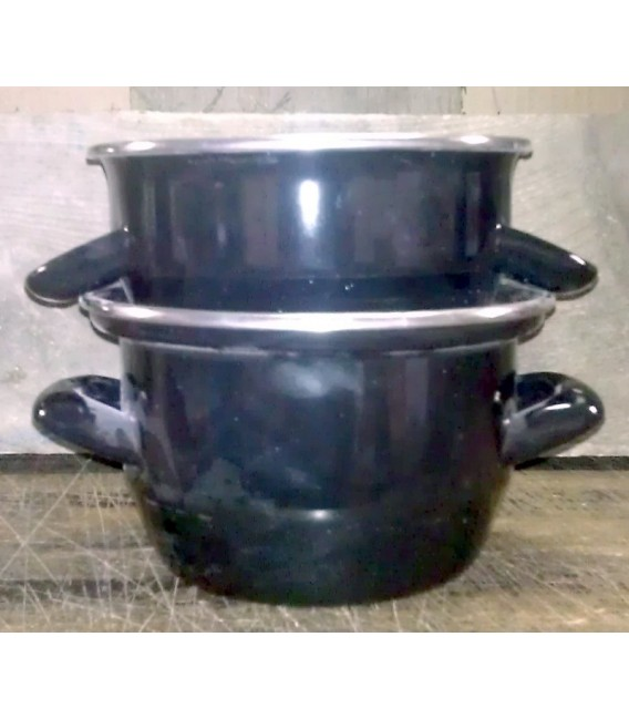 Mussle Pot Classic Belgian-Style (14cm diameter)