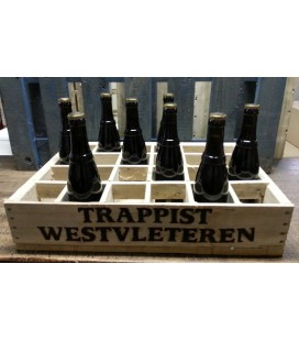 Westvleteren 12 (9-pack) in wood Trappist beer-crate (original)