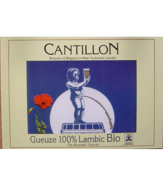 Cantillon Gueuze 100 % Lambic Bio Poster