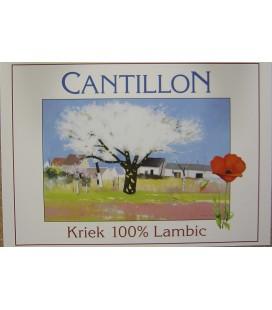Cantillon Kriek 100% Lambic Bio Poster