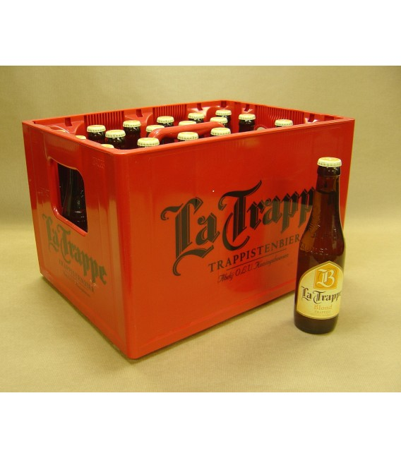 La Trappe Blond full crate 24x33cl