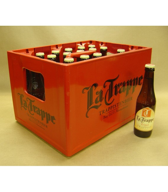 La Trappe Tripel full crate 24x33cl